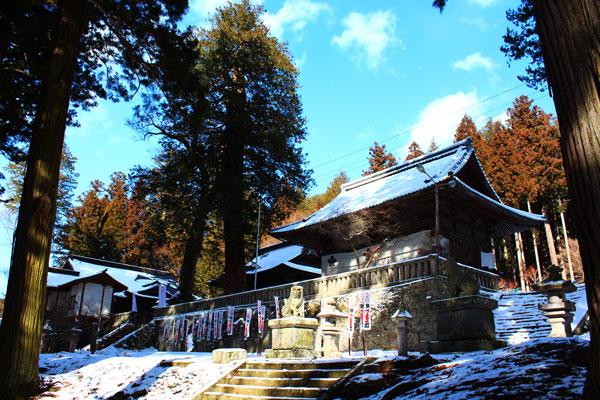 君の名は。新海三社神社